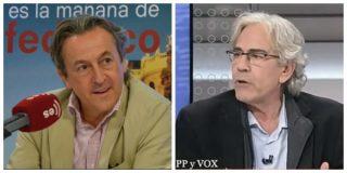 """El 'sanchista' Toni Bolaño vomita insultos contra VOX y Tertsch le deja para el arrastre: """"Es un imbécil y un lacayo moral"""""""