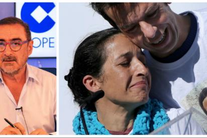 La desgarradora reacción de la madre de Gabriel Cruz con Carlos Herrera ante la posibilidad de que a la asesina de su hijo le reduzcan la condena