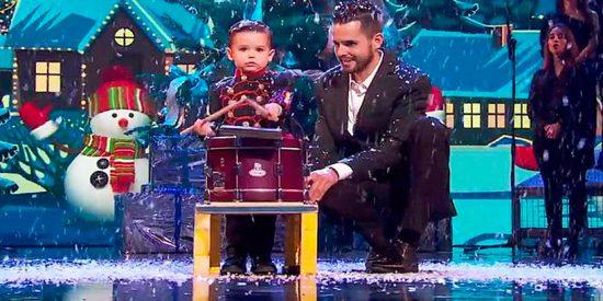 Hugo, el pequeño tamborilero, conquista al jurado y espectadores y gana la final de 'Got Talent'