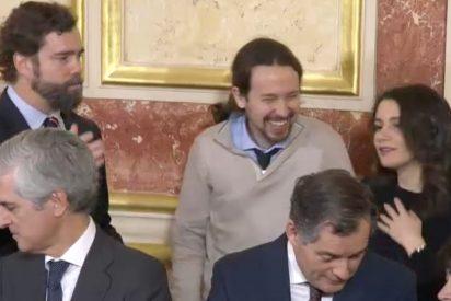 Espinosa de los Monteros desvela de qué habló en la misteriosa conversación con Iglesias y Arrimadas