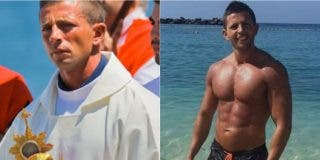 Ricardo, el cura 'cachas' viral: excita las redes en bañador y de Cupido