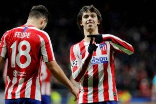 'Champions': El Atlético de Madrid hace los deberes frente al Lokomotiv (2-0) y se clasifica para octavos