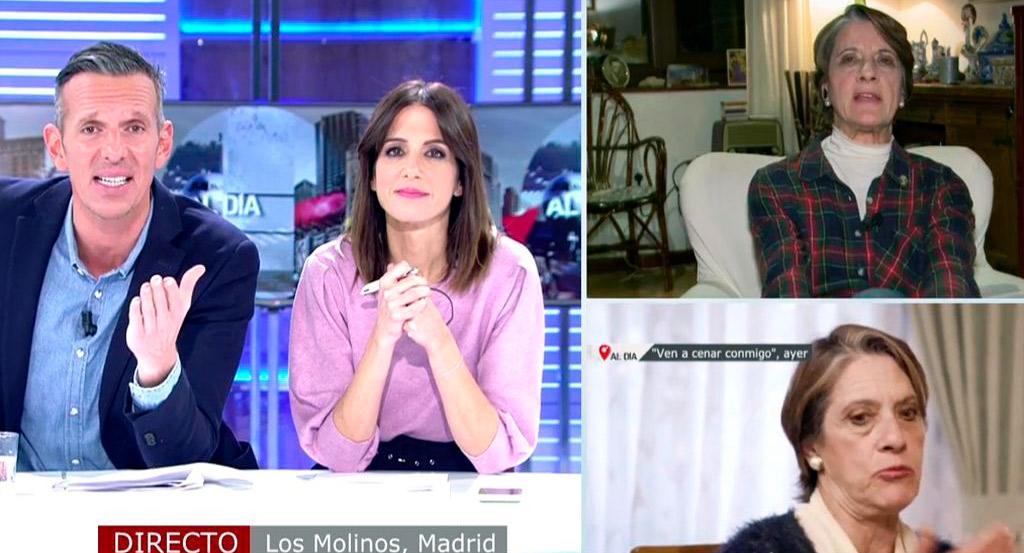 Joaquín Prat veta en su programa de Cuatro a Pilar Gutiérrez, la mujer 'más franquista' de España