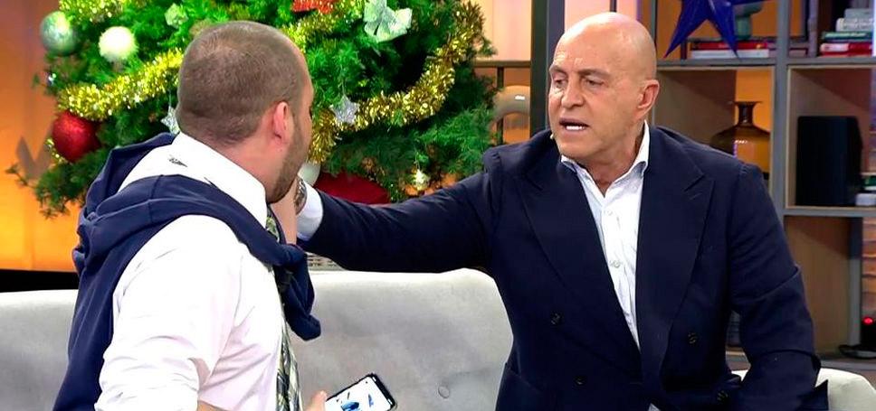 Telecinco sigue permitiendo que desde sus platós Kiko Matamoros insulte a todo el que le lleve la contraria