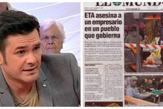 El pasado de Iñaki López en la ETB: tachó a El Mundo de 'ultraderecha' por mostrar el lado más cruel del terror etarra