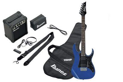 La Ibanez IJRG200-BL, una de las mejores guitarras eléctricas para aprender