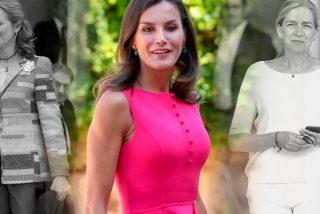 """Cuando la Reina Letizia """"puso en su sitio"""" a sus cuñadas Elena y Cristina"""