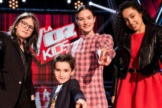Aysha, Daniel, Sofia o Irene, uno de ellos se proclamará ganador de 'La Voz Kids'