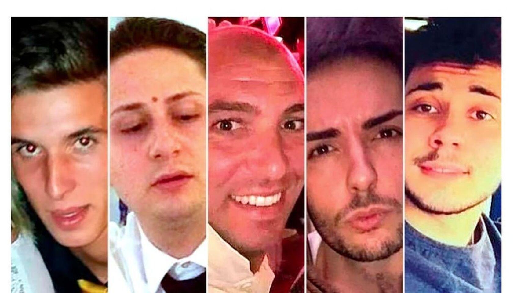 Estos son los 5 jóvenes italianos que drogaron, violaron en grupo y grabaron en vídeo a una turista inglesa, que viajaba con su hija para olvidar su reciente divorcio