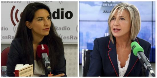 Soberbio troleo de Rocío Monasterio a Julia Otero por dárselas de falsa concienciada con el cambio climático