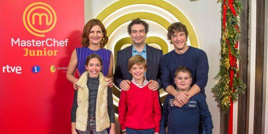 'MasterChef Junior 7' llega a La 1 por Navidad con nueva imagen y 16 pequeños grandes aspirantes a chef