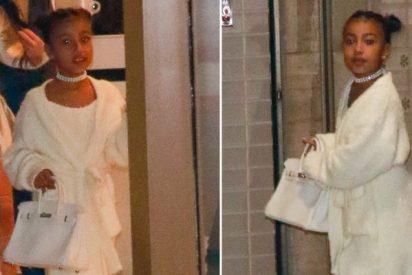 Kim Kardashian regala a su hija de 6 años un bolso de 10.000 $ para que vaya elegante a la ópera