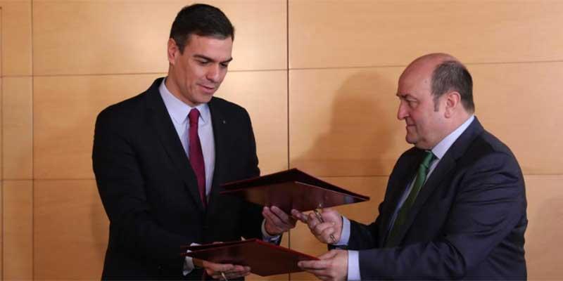 Euskadi, al Mundial: Sánchez pacta con el PNV que el País Vasco participe en las grandes competiciones deportivas internacionales