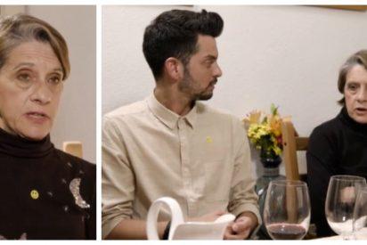 """La mujer más franquista de España monta un belén en Cuatro: """"¡Qué agresivo eres! ¿Te viene de ser andaluz o de ser gay?"""""""