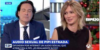 """Un salvaje audio sexual que atribuyen al periodista Pipi Estrada pone patas arriba el programa de Susanna Griso: """"¿Notas como te entra hasta el fondo?"""""""