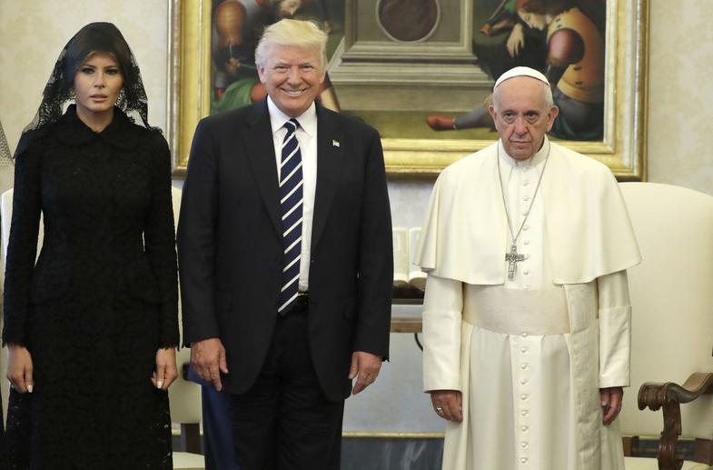 El Papa coloca al presidente Donald Trump a la altura del malvado rey Herodes