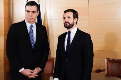 El ultimátum de Casado a Sánchez por el 'Delcygate': ¡Confiesen antes de ir a juicio!