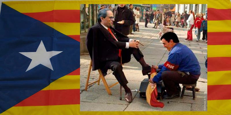 El socialista Sánchez 'riega' con 4.200 millones Cataluña y 'retiene' los 2.500 del IVA de otras regiones españoles