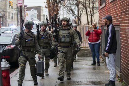 Seis muertos en un bestial tiroteo en un cementerio y junto a un supermercado kosher de New Jersey