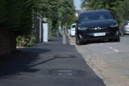 ¡Así son los puntos de carga de coches eléctricos para evitar actos vandálicos!