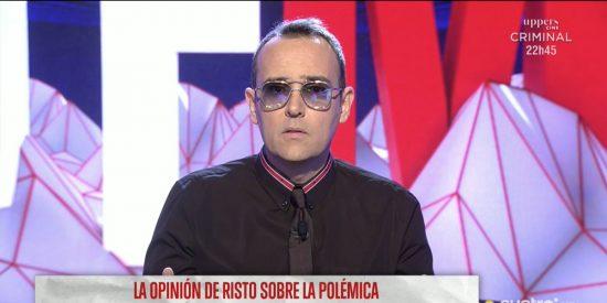Hasta el 'apesebrado' Risto Mejide carga contra Mediaset por el caso Carlota Prado
