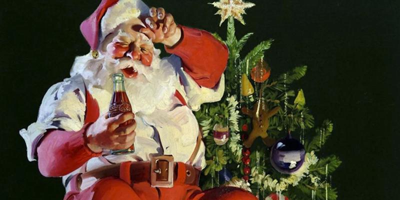 ¿Conoces la alucinante historia de una herida de guerra que terminó con millones de niños creyendo en Santa Claus?