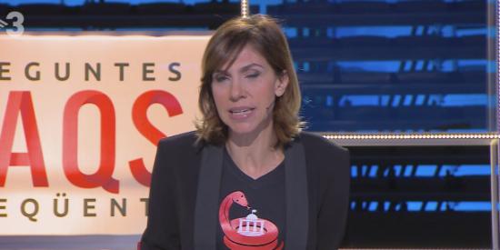 Una presentadora de TV3 dice sin sonrojarse que la ONU pidió la liberación de los golpistas presos