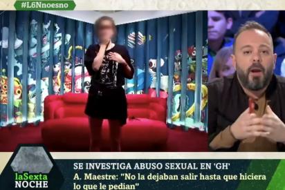 El Quilombo / Las contorsiones de Antonio Maestre para seguir trincando de Mediaset: culpar al 'Súper de GH' de la presunta violación de Carlota