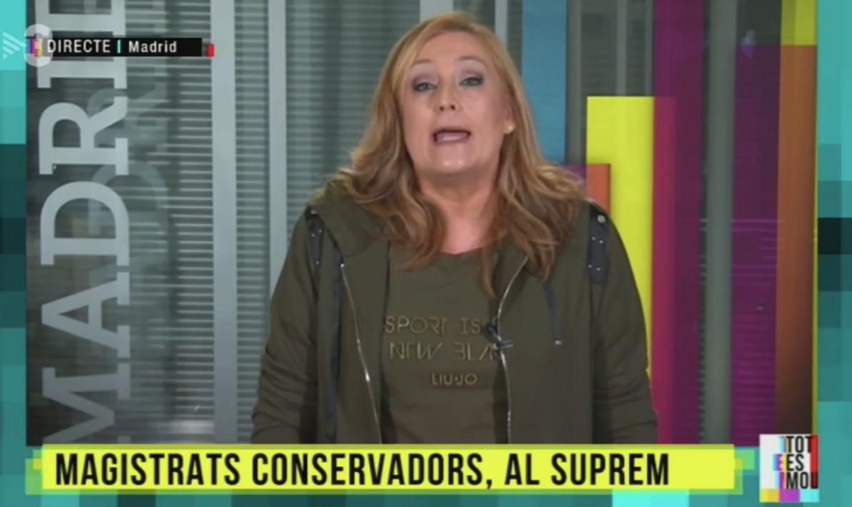 Elisa Beni desbarra sin camisa de fuerza en TV3 asegurando que VOX acabará con la democracia como Hitler en Alemania