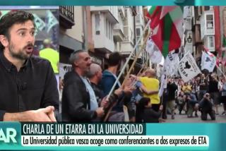 """El Quilombo / Espinar escupe a las víctimas del criminal etarra López de Abetxuko: """"No hay que oponerse a que dé una charla"""""""