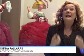 """TVE pone a Fallarás como referencia moral del feminismo: """"Toda la vida nos han tocado una teta y nos han apoyado el p... en el autobús"""""""