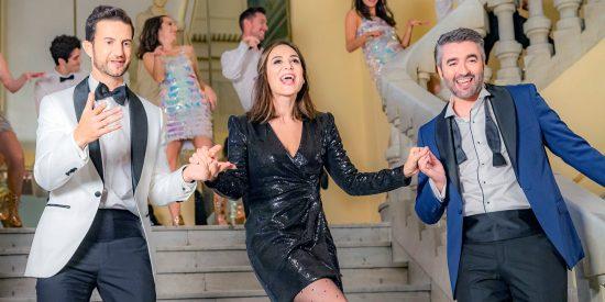 Tamara Falcó, toda una estrella en el 'Telepasión' de TVE