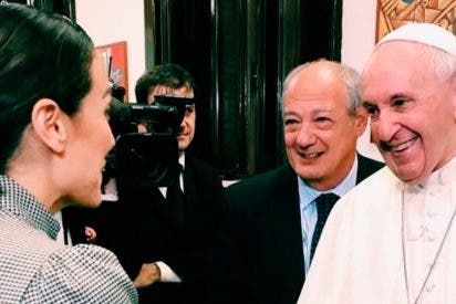 Tamara Falcó hace realidad su mayor sueño: Conocer personalmente al Papa Francisco