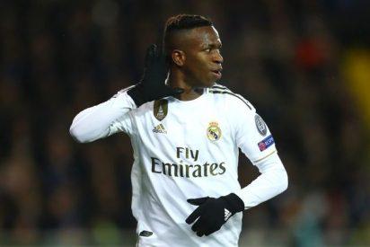 'Champions': El Real Madrid de Vinicius se da una alegría en Brujas (1-3)