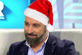 Santiago Abascal felicita la Navidad con una extraordinaria foto acompañado de su mujer Lidia Bedman