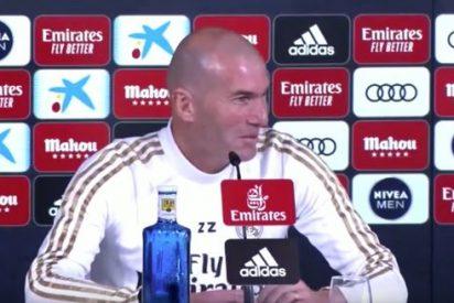 Barça-Real Madrid: Cachondeo con esta frase de Zidane sobre el resultado en fútbol