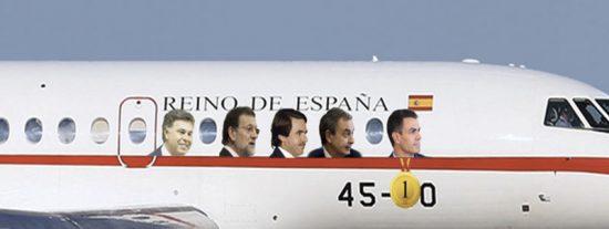 ¿Sabes qué presidente ha usado más el Falcon? Pedro Sánchez tiene la medalla de oro