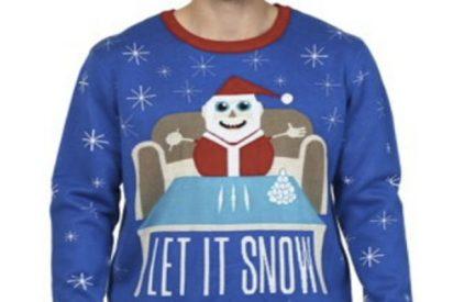 Walmart se disculpa y retira el jersey de Navidad de un Papá Noel con cocaína