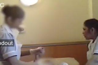 Una cámara oculta graba los maltratos sufridos por una mujer de 94 años a manos de sus desalmadas cuidadoras