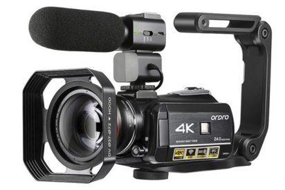 Si buscas una Video Cámara 4K, la ORDRO AC3 Ultra HD 1080P 60FPS es una muy buena opción