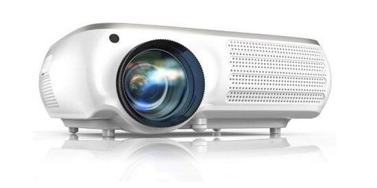 Si quieres montar un cine en casa, el proyector TOPTRO 6200 Lúmenes Full HD es una muy buena opción
