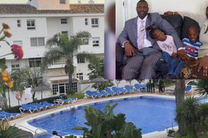 Este es el pastor evangelista Gabriel y sus dos hijos, los tres murieron ahogados en Nochebuena en una piscina de Mijas por no saber nadar