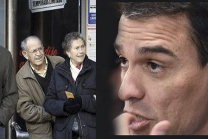 'Las mentiras de Sánchez': Los socialistas comenzarán 2020 congelando las pensiones
