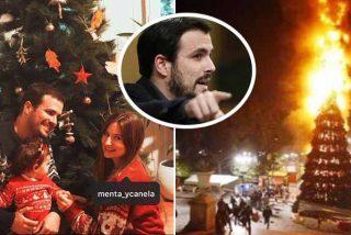 Alberto Garzón, el hipócrita comunista que odia la Navidad menos para el posado familiar en Instagram