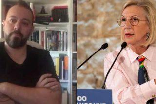 La izquierda humanitaria: el comunista Antonio Maestre insinúa que Rosa Díez está para el psiquiátrico
