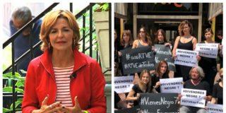 El Quilombo / Vea a Almudena Ariza presumir de montar un chiringuito feminista para denunciar a otras compañeras de TVE que no tragan con las consignas del PSOE