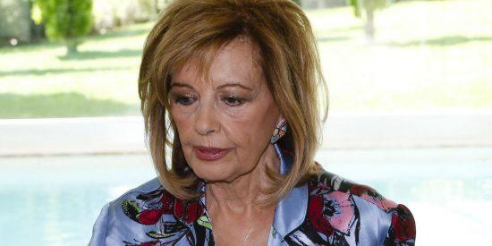 María Teresa Campos acaba el año con una terrible noticia judicial por una venganza de Telecinco