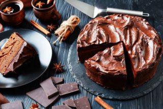 Cobertura de chocolate para tartas