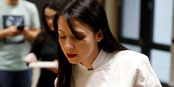 """Elizabeth Vázquez nombrada """"Chef repostera"""" de la Gran Cena de Chocolate en Madrid"""