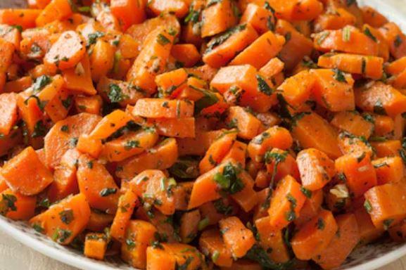 Ensalada de zanahoria a la marroquí